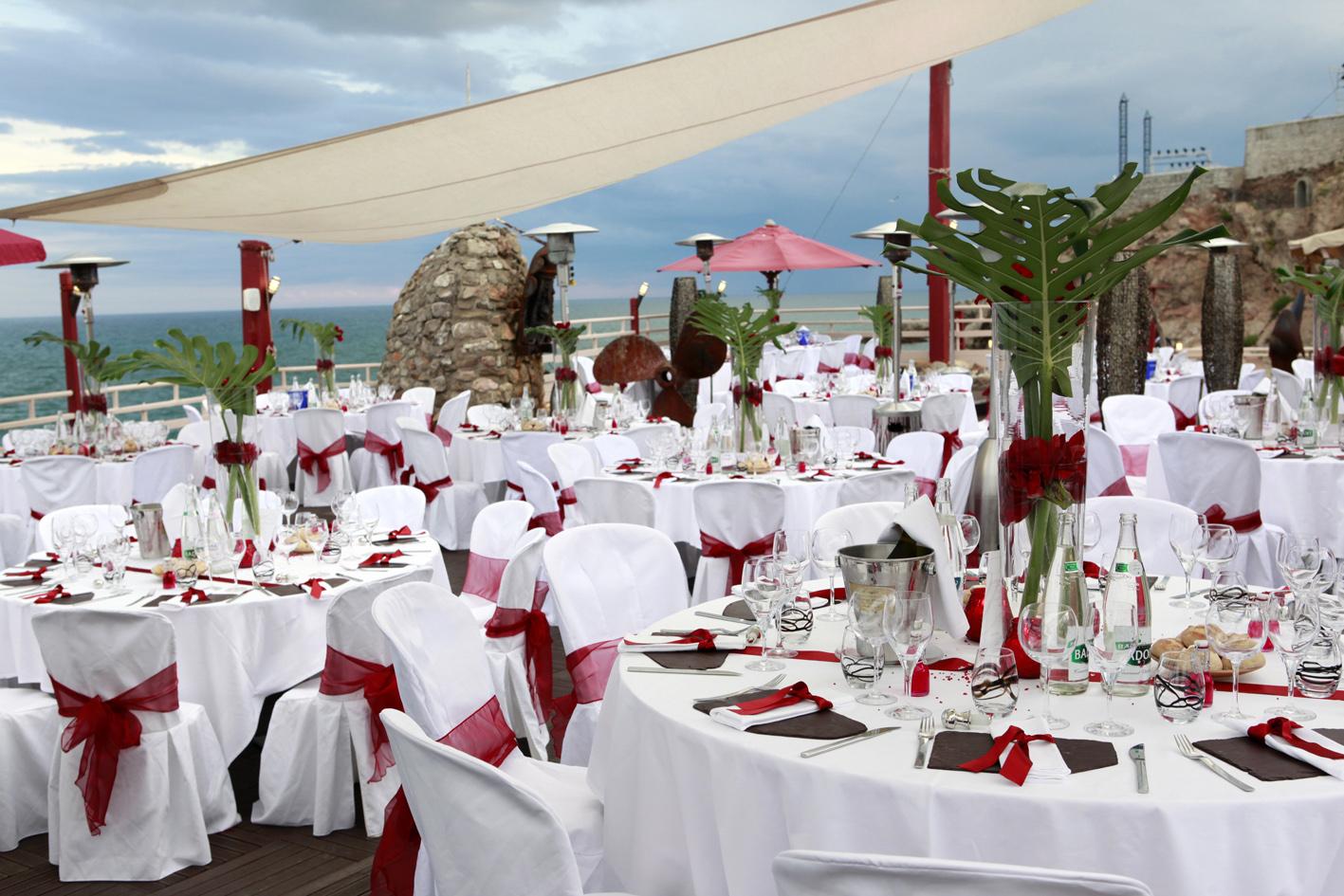 Bien d corer votre salle de mariage pour plus d 39 ambiance - Idee decoration salle mariage ...