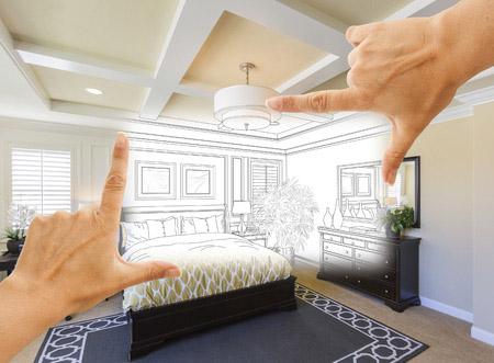 refaire une chambre avec des astuces d co petit prix. Black Bedroom Furniture Sets. Home Design Ideas